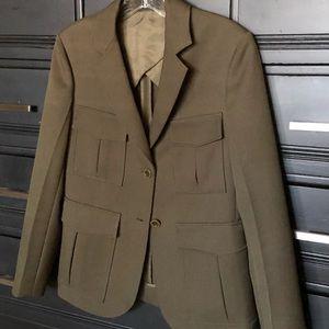 Theory wool jacket size 4 (sample) piece